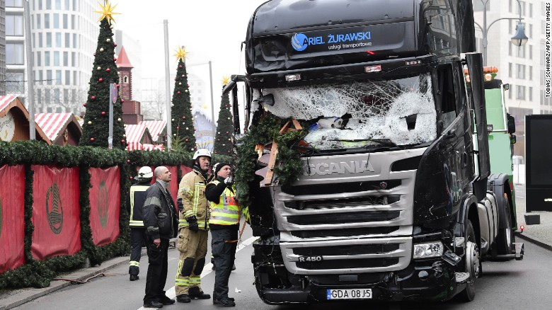 Berlin Christmas Market Attack Suspect A Refugee Security Sources